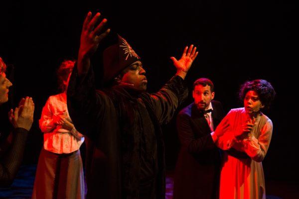 Darrin Lamont Byrd als Aleister Crowley © Stefan Wagner