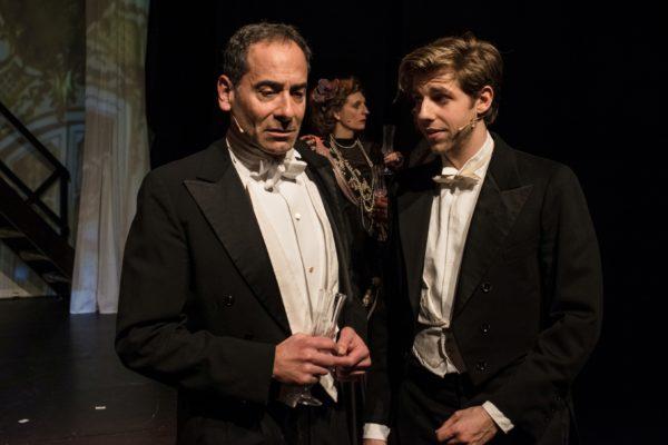 Ethan Freeman (Sherlock) + Merlin Fargel (John) © Stefan Wagner